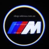 Подсветка в двери авто логотип - BMW 3M -  лазерная проекция логотипа в двери автомобиля BMW 3M