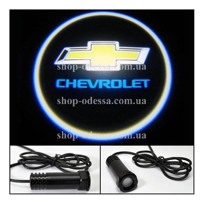 автоэмблема chevrolet с подсветкой